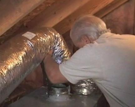 Duct sealing