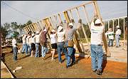Rebuild raising a wall